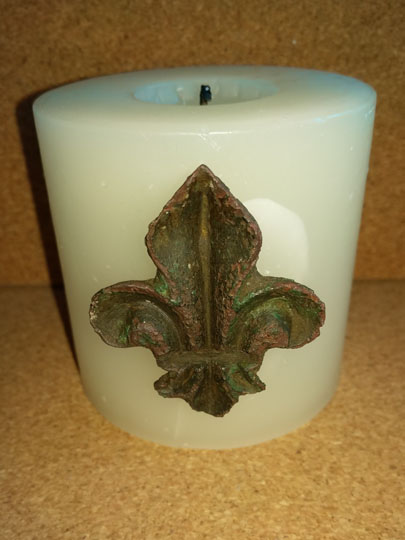 Ecclesiastical Candle Mount
