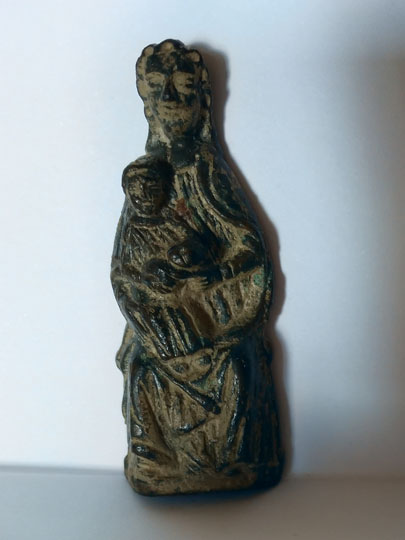 Mother and Child Enthroned